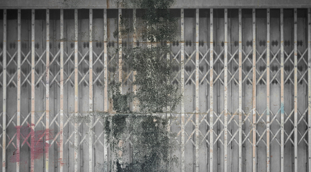 grunge stain on old steel texture Stock Photo