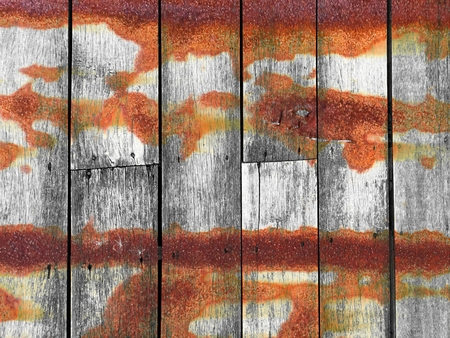 corrosion grunge stain on wood wall texture