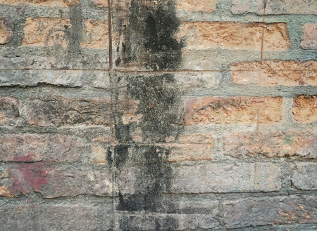 grunge stain on old concrete wall