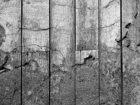 crack old wood texture Stock Photo