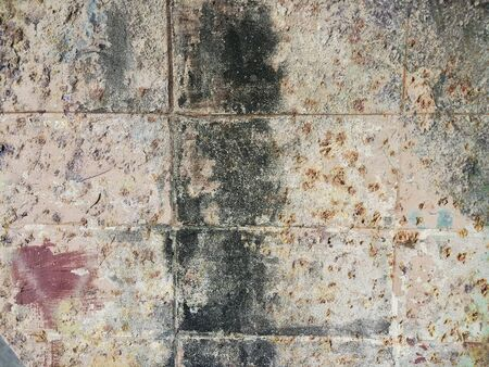 grunge rough dirty corrosion spot on concrete wall texture