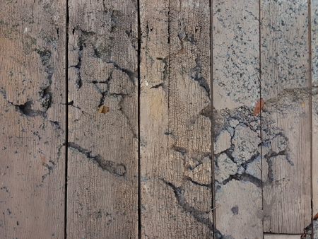 crack vertical wood wall texture Stock Photo