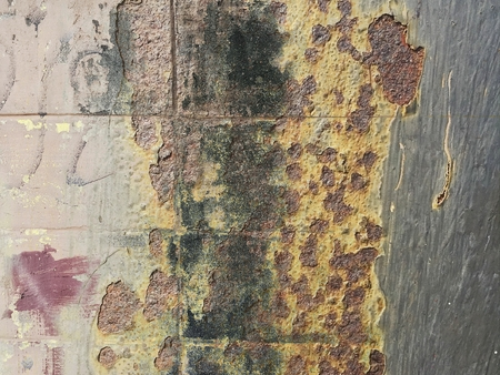 grunge old corrosion stain on concrete wall texture