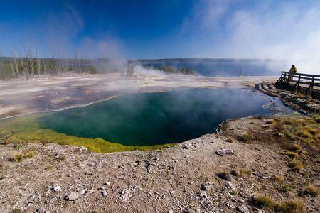 overtone: Yellowstone hot pool