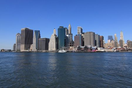 Lower Manhattan skyline, New York City Stock Photo - 4914725
