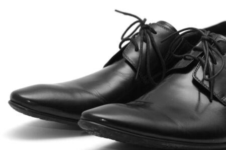 Classic shiny black men's shoes Stock Photo - 6012382