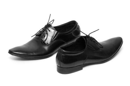 Classic shiny black men's shoes Stock Photo - 6012390