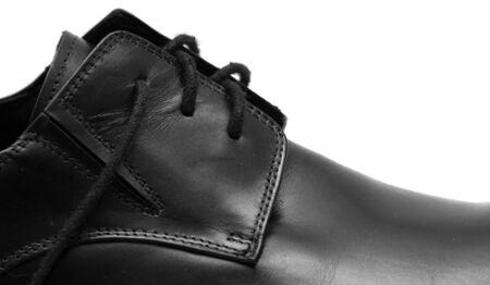 Classic shiny black men's shoes Stock Photo - 6024693