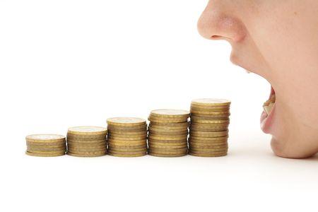 돈을 먹는 위기