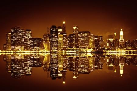 city tourism: Downtown Manhattan, New York City
