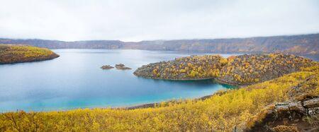 golu: Lake Nemrut  Nemrut Golu  in caldera of volcano Stock Photo