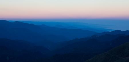 Mountains range at sunrise Stock Photo - 17024720