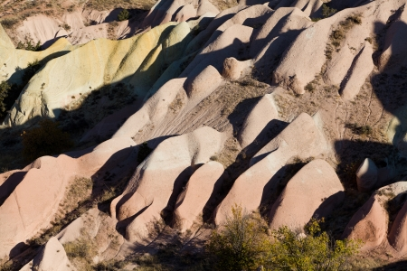 Eroded rock formations Stock Photo - 17390593