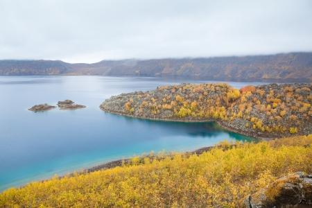 golu: Lake Nemrut  Nemrut Golu, Nemrut Dag   in caldera Volcano Nemrut, Turkey