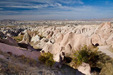 goreme: Famous National Park  Goreme  in Cappadocia, Turkey