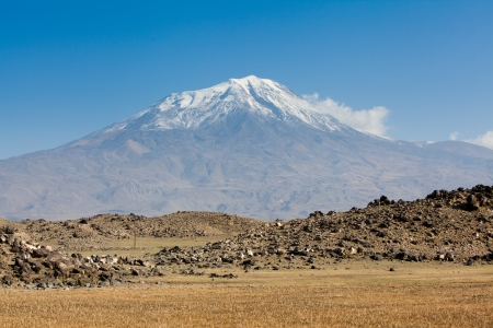 Mount Ararat in Turkey Stock Photo