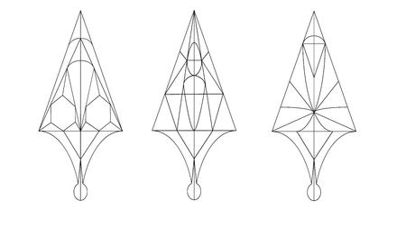lineas rectas: Flechas con los patrones. Cursores. Heterosexual L�neas Estilo Vectores