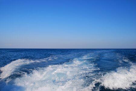 ondas de agua: Mediterranean Sea Background. Blue Water. Waves on the Surface