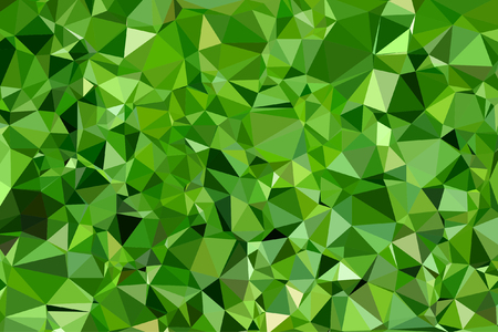 diamond texture: Beautiful emerald green lime abstract mosaic polygonal background Illustration
