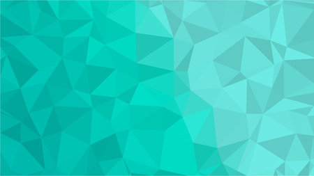 Aqua Water Blue Polygonal Mosaic Background, Low Poly Style, Vector illustration, Business Design Templates Vector Illustration