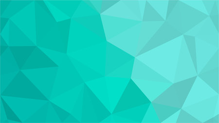 Aqua Water Blue Polygonal Mosaic Background, Low Poly Style, Vector illustration, Business Design Templates