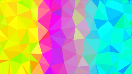 Colorful Polygonal Mosaic Background, Low Poly Style, Vector illustration, Business Design Templates