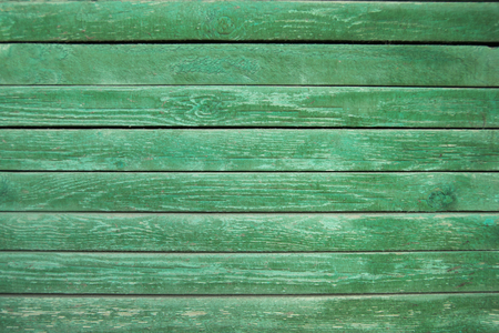 Green Old Wooden Texture Background. Bright Wood Structure. Imagens