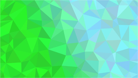 Color Polygonal Mosaic Background Low Poly Style Vector