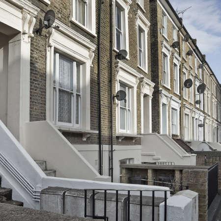 rij huizen: Row Houses in Londen