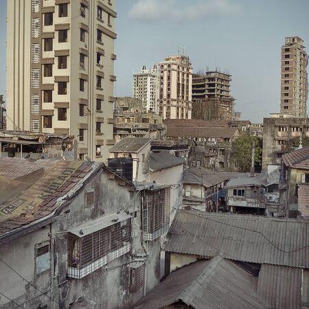 A dense area of Mumbai