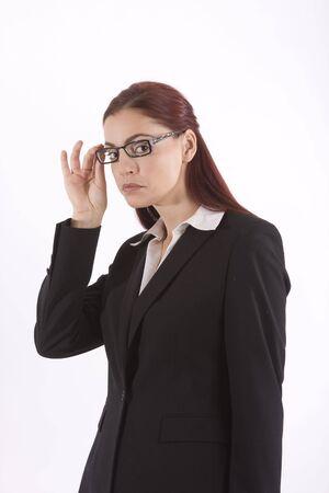 선미와 그녀의 안경 조정 사업가