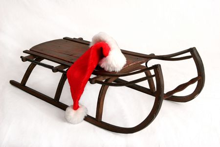 Christmas sled Stock Photo - 6402679