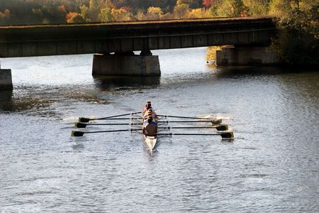 sculling: Working together
