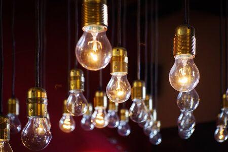 light bulbs close up Stock fotó