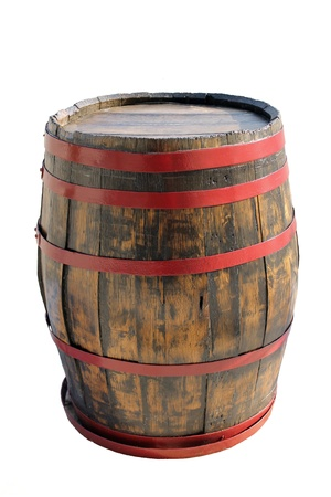 barrel of wine Stock Photo
