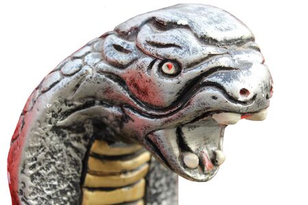 snake statue in metal Stock Photo - 18180821