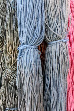 hank: hank wool
