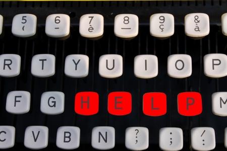 help on old typewriter photo