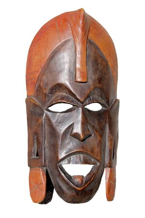 artifact: old mask Stock Photo