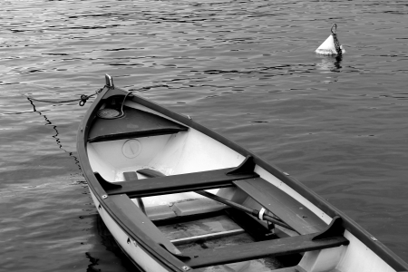 boat on lake photo