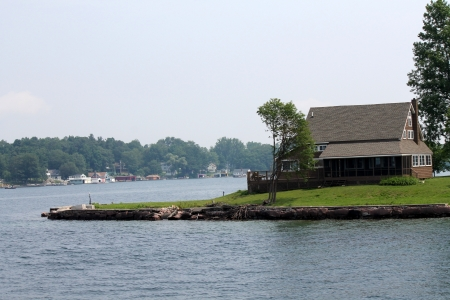 unique house on the island