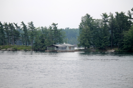 island on the river