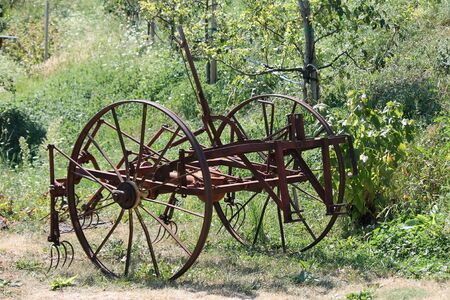 old farmer: old plow craft
