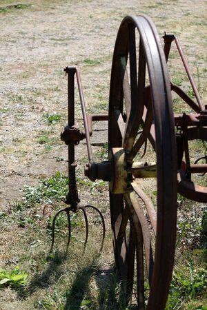 plough machine: old plow craft