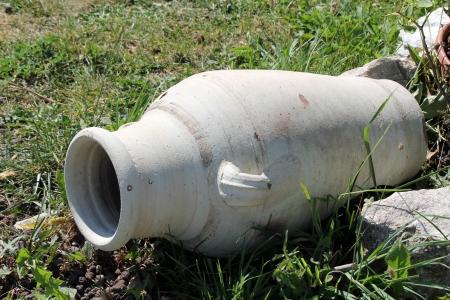 amphora in the garden Stock Photo - 22295375