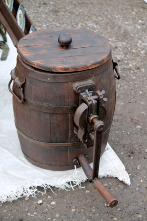 old tool to make butter