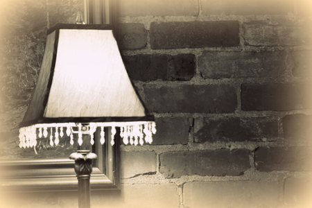 atmosphere with lamp photo