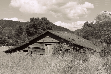 old american barn photo