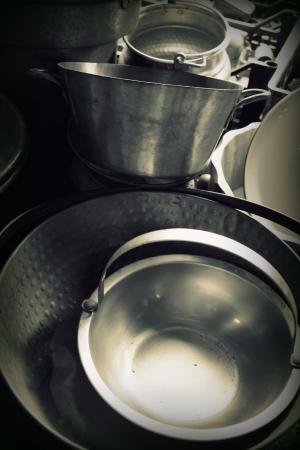 old pots and pans Reklamní fotografie