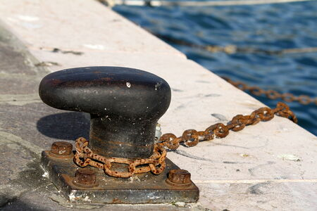 docking: docking on the pier